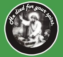 DJ Jesus died for your spins by bakery