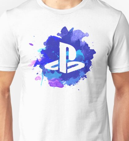 Playstation Watercolor Unisex T-Shirt
