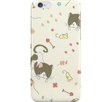 showshoe cat collection set iPhone Case/Skin