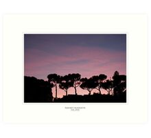 Nature's Silhouette Art Print