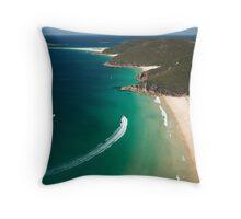 Zenith Beach - Port Stephens Throw Pillow