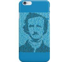 Edgar Allen Poe - The Raven Poem Retro T Shirt iPhone Case/Skin