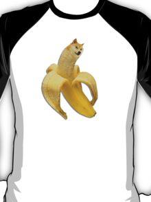 Doge meme wow banana T-Shirt