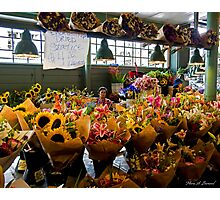 Flower Stand Photographic Print
