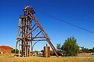 Mining Headframe at Cobar by Darren Stones