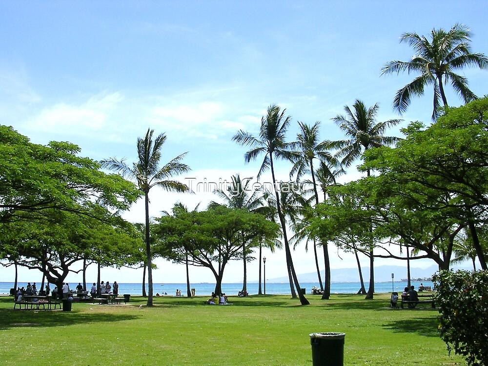 Waikiki Beach by TrinityCentaur
