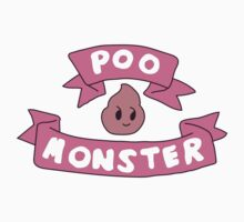 Poo monster Kids Tee
