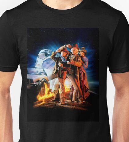 Back to the Future III Unisex T-Shirt