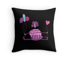 Oh Silly Birthday Throw Pillow
