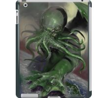 Cthulhu rising iPad Case/Skin