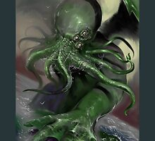 Cthulhu rising by scottneil