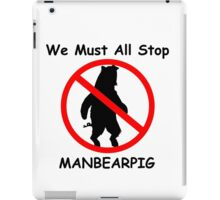 MANBEARPIG (South Park) (Al Gore) iPad Case/Skin