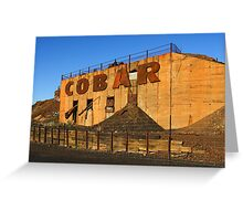 Cobar Greeting Card