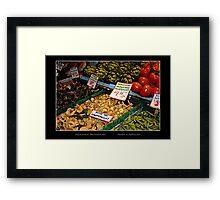 Hedgehog Mushrooms - Cool Stuff Framed Print