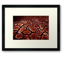 The Big Dry Framed Print