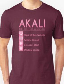 Champion Akali Skill Set In Pink T-Shirt
