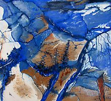 Rock Blues by Kathie Nichols