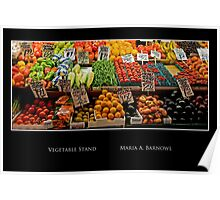 Vegetable Stand - Cool Stuff Poster