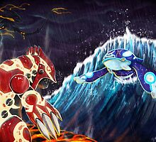 Pokemon Omega Ruby Alpha Sapphire by qlaxx