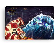 Pokemon Omega Ruby Alpha Sapphire Canvas Print