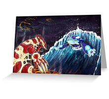 Pokemon Omega Ruby Alpha Sapphire Greeting Card