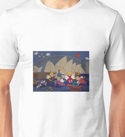 Angels in Sydney. Unisex T-Shirt