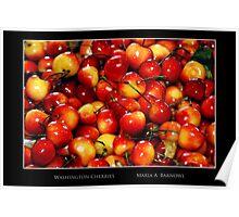 Washington Cherries - Cool Stuff Poster