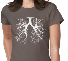 Tree Of Life (white) Womens Fitted T-Shirt