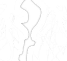 Tree Of Life (white) Sticker