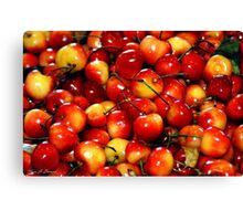 Washington Cherries Canvas Print