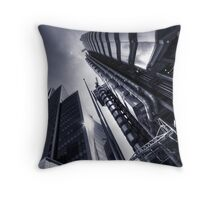 One Lime Street Throw Pillow