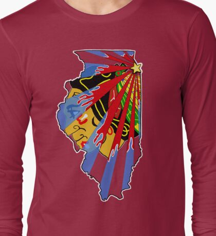 Illinois Blackhawks Long Sleeve T-Shirt