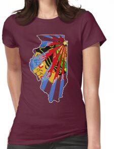 Illinois Blackhawks Womens Fitted T-Shirt