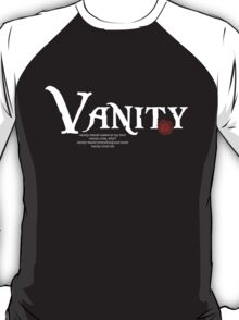Vanity Black Version T-Shirt