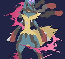 Mega Lucario by Roes Pha