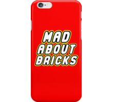 MAD ABOUT BRICKS, Customize My Minifig iPhone Case/Skin