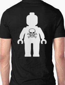 Minifig with Skull  T-Shirt