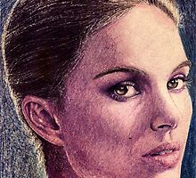 Natalie Portman by Antonio Méndez Díaz