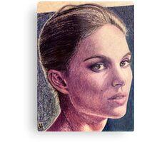 Natalie Portman Metal Print