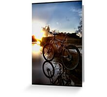 Wheels of Will Greeting Card