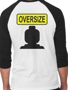 Oversize Minifig Men's Baseball ¾ T-Shirt