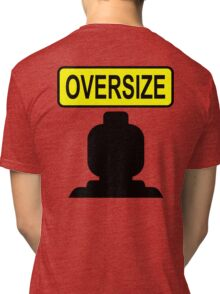 Oversize Minifig Tri-blend T-Shirt