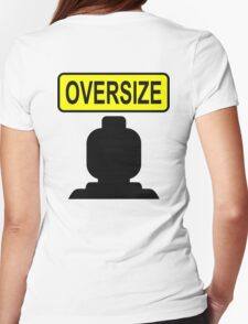 Oversize Minifig Womens Fitted T-Shirt