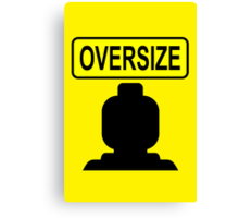Oversize Minifig Canvas Print