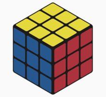 Rubiks Cube One Piece - Short Sleeve