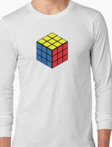 Rubiks Cube Long Sleeve T-Shirt