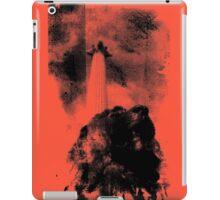 Trafalgar Square Lion, London UK Coral iPad Case/Skin