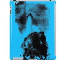 Trafalgar Square Lion, London UK Blue iPad Case/Skin