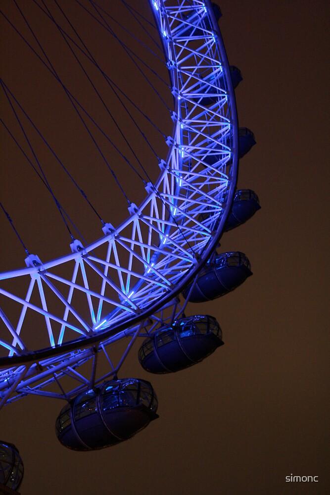 London Eye Xmas Day by simonc