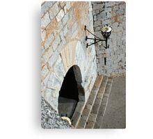 """Templar Castle"" Canvas Print"